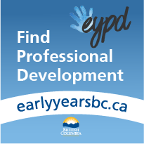 Link to BC Early Years Professional Development portal