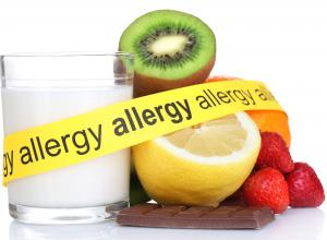 Foods that are common allergens